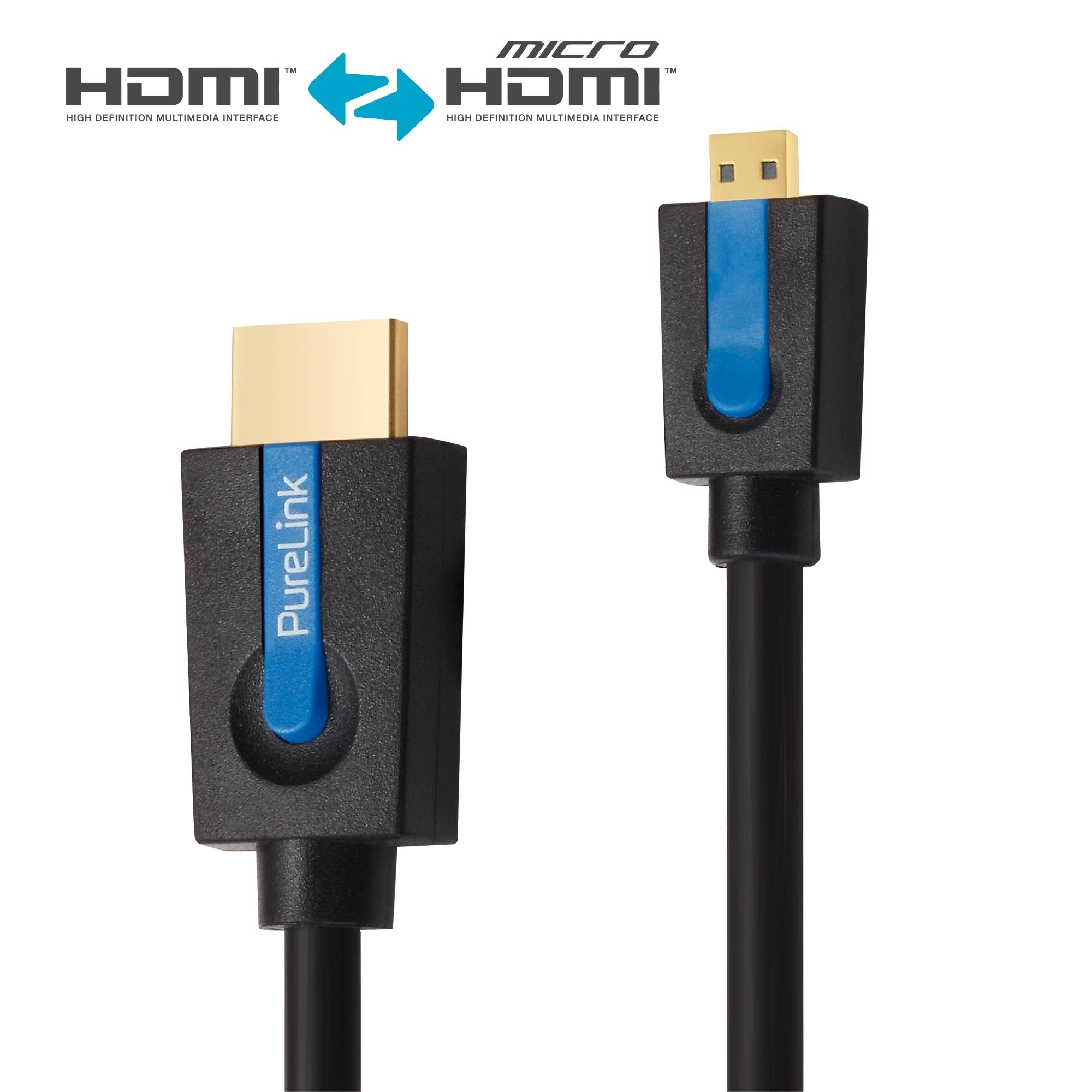 4Kx2K CEC mit Lock-Kontakt 0,5 m HDMI Flachkabel ARC Ultra HD Full HD 3D