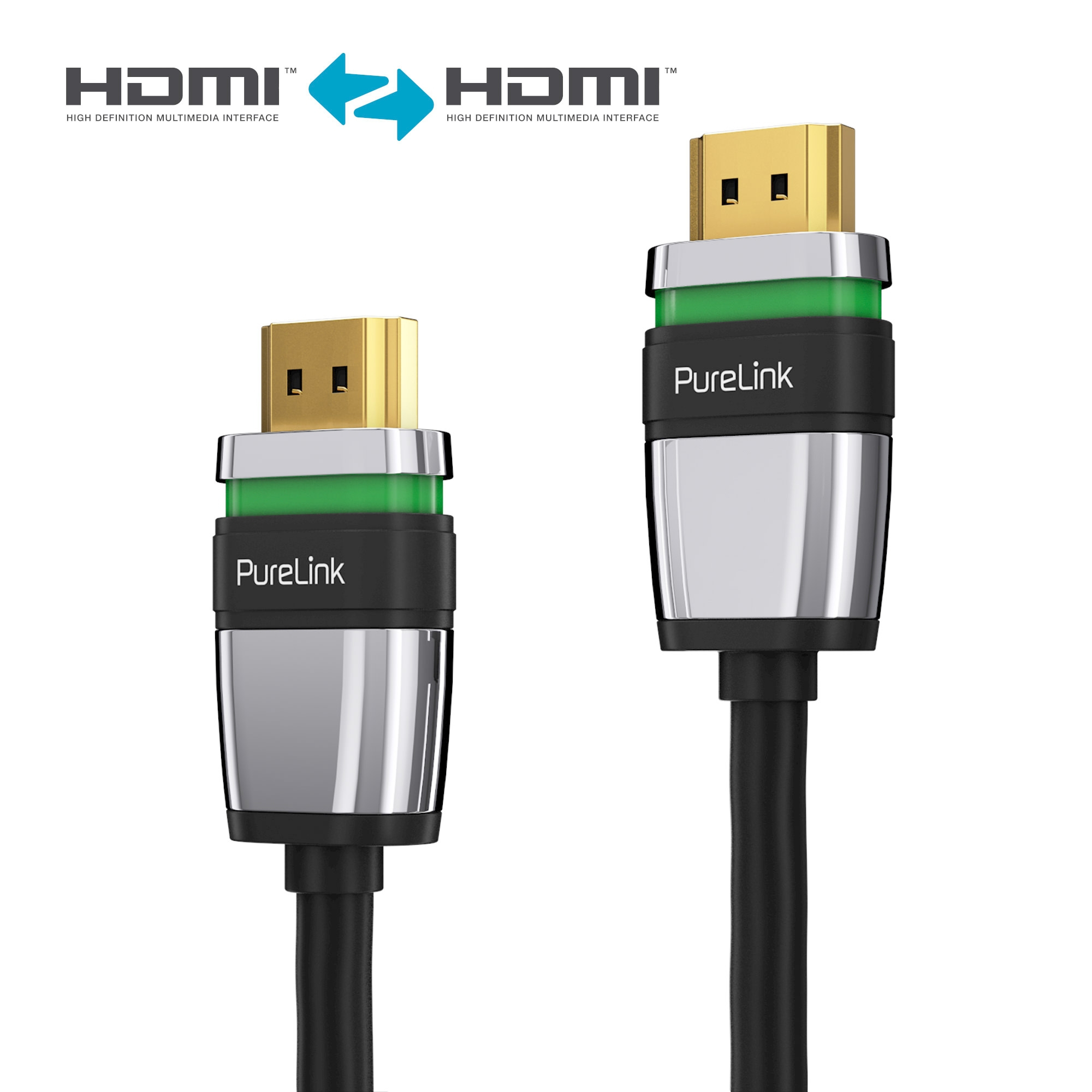 HDMI Kabel Ultimate Active Serie 5 00m schwarz HDMI Kabel HDMI Anschlusskabel eAV Deutschland AV Distribution